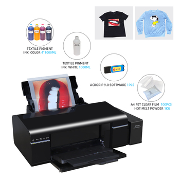 For Epson L805 DTF Printer Heat Transfer PET Film Transfer Film Printing Direct To Film T-shirt Printing With DTF Ink PET Film 1