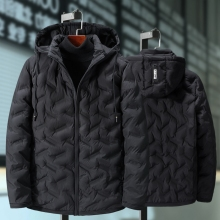 Extra large men jacket thick big man thick coat winter oversized Hooded Parkas men cotton jacket plus size 5XL 6XL 7XL 8XL  9XL