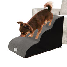 Haustier Hund Treppen 3 Schritte Treppen Leiter Für Pet Hund Haus Anti-slip Abnehmbare Hunde Bett Treppen Schwamm Schritte katze Treppen Pet Liefert