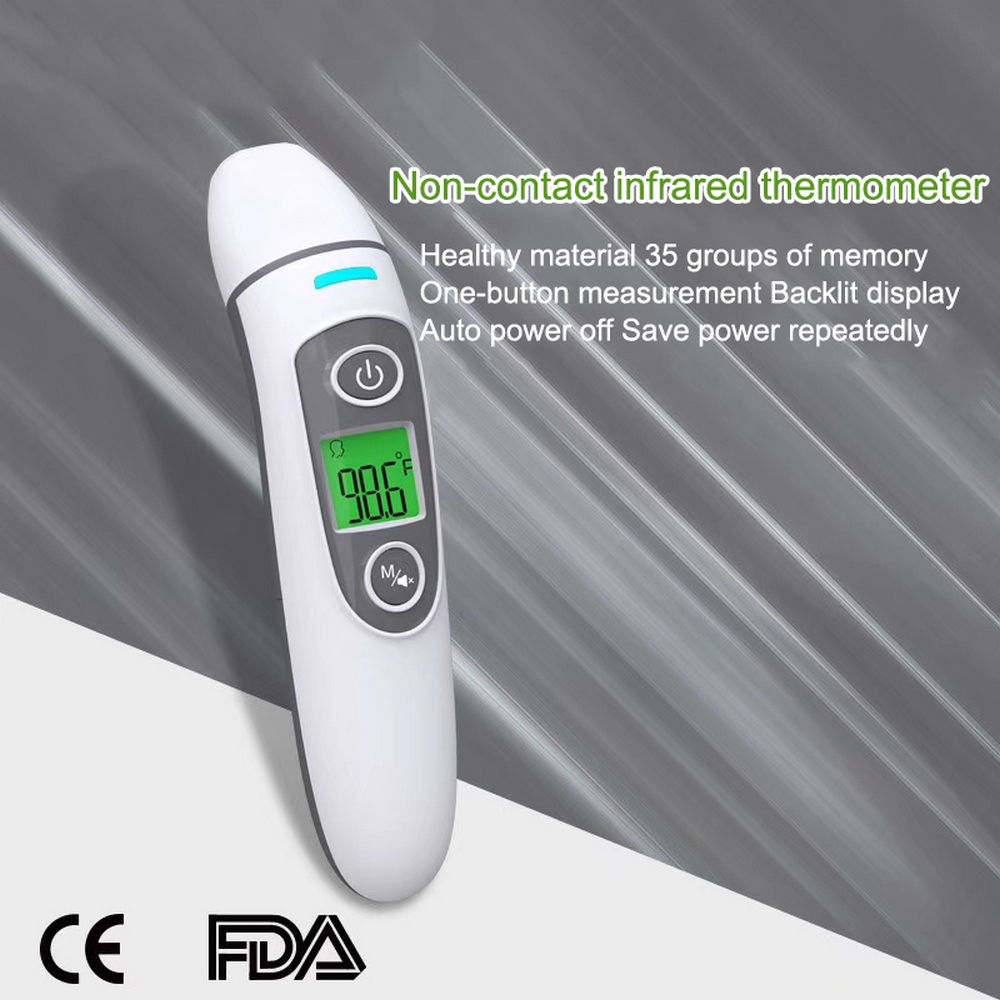 Digital Thermometer Infrared Baby Adult Forehead Non-Contact Infrared Thermometer Fever Measurement Tool For Baby Adult