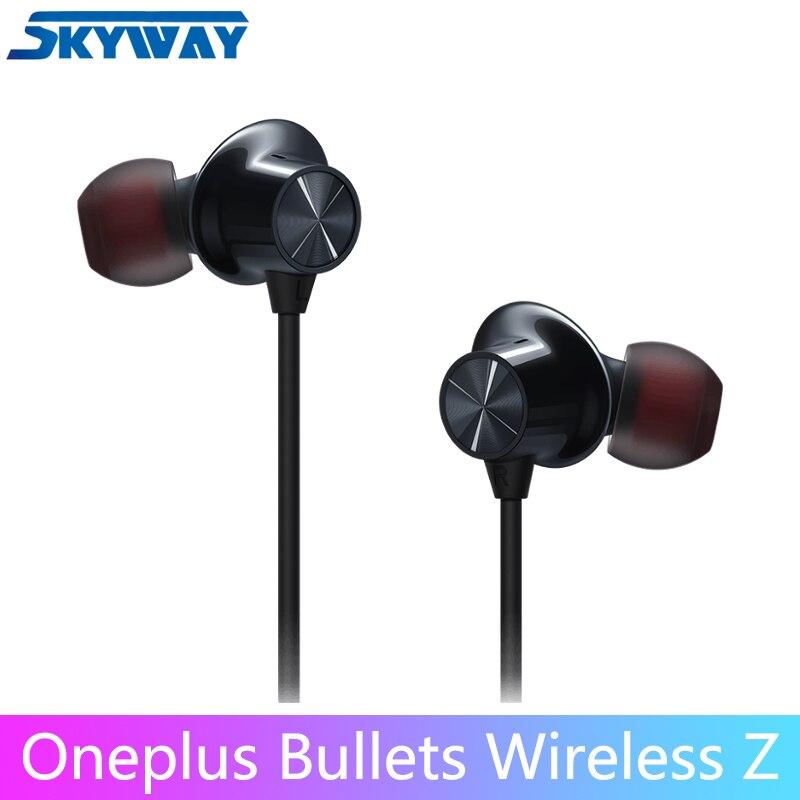 Оригинальные беспроводные наушники OnePlus Bullets Z, гибридные магнитные наушники с управлением через Google Assistant, быстрая доставка, Bluetooth-наушники