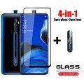 Стекло на Reno 2Z закаленное стекло для Oppo Reno2 Z 2Z защита на ЖК-экран телефона HD полное клеевое покрытие для Oppo Reno 2Z стекло 6,53