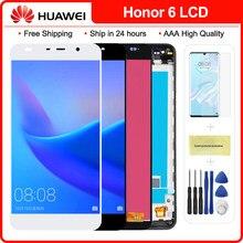 5,0 ''для НУА Вэй слава 6 ЖК-дисплей для HUAWEI Honor 6 ЖК-дисплей с сенсорным экраном дигитайзер в сборе H60-L02 H60-L12 H60-L04 без битых пикселей Бесплатные и...