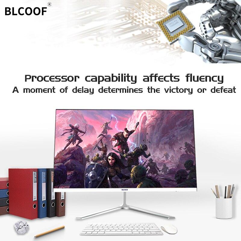 """Ultra-cienki komputer typu """"wszystko w jednym"""" Core i5 urządzenia domowe 21.5 cala Monitor pulpit wbudowane wi-fi nadaje się do gier biurowych"""