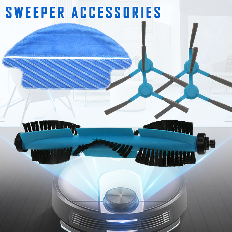 Mop-Cloth-Kit Vacuum-Cleaner Sweeping-Robot J2Y Replacement-Accessories Main-Side-Brush
