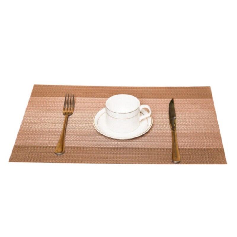 Коврик для обеденного стола, противоскользящий теплоизоляционный коврик, моющиеся коврики для кофе, термостойкие кухонные столы для обеде... - 2