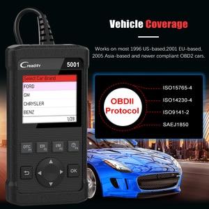 Image 5 - LAUNCH cr5001 obd2 profissional scanner automotivo atualização gratuita obd2 auto scanner desligar motor mil luz ferramenta de diagnóstico do carro