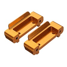 2Pcs Upgrade Spare Rc Car Parts Front Rear Bumper for Wltoys A959-B A969-B A979-B wltoys a959 rc car spare parts tail holder