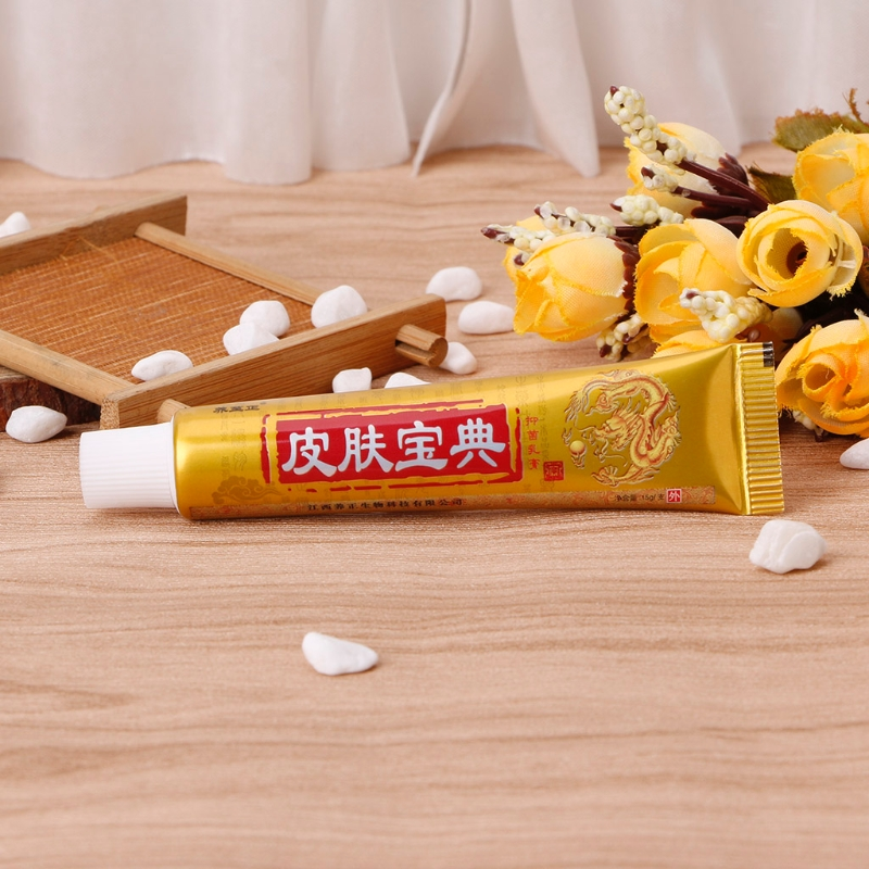 Natural Chinese Medicine Herbal Anti Bacteria Cream Psoriasis Eczema Ointment Treatment X5XC