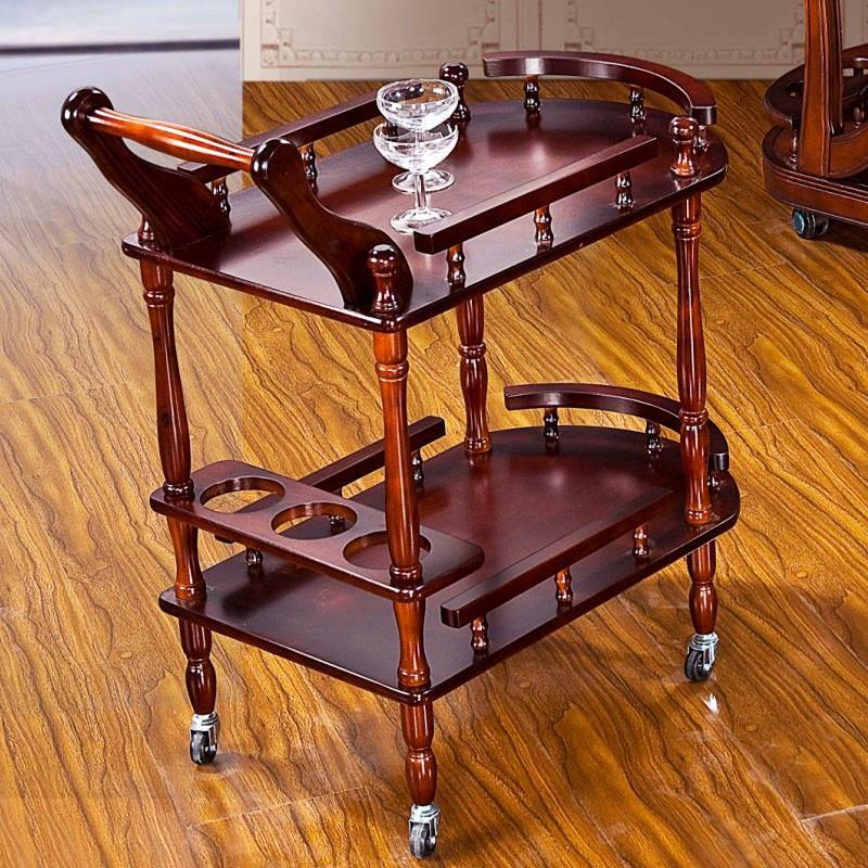 Dining Car, Liquor Cart, Snack Cart, Refreshment Cart, Tea Cart, Solid Wood Dining Cart, Hotel Cart