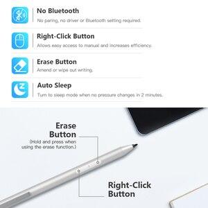 Image 5 - Yeni Stylus kalem Microsoft Surface 3 için/Go/kitap/Pro 3/4/5/6, (Palm reddi) aktif iğneli kalem ile 4096 basınç hassasiyeti