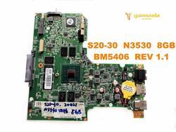 Oryginalny dla Lenovo S20-30 laptop płyta główna S20-30 N3530 8GB BM5406 REV 1.1 testowane dobry darmowa wysyłka