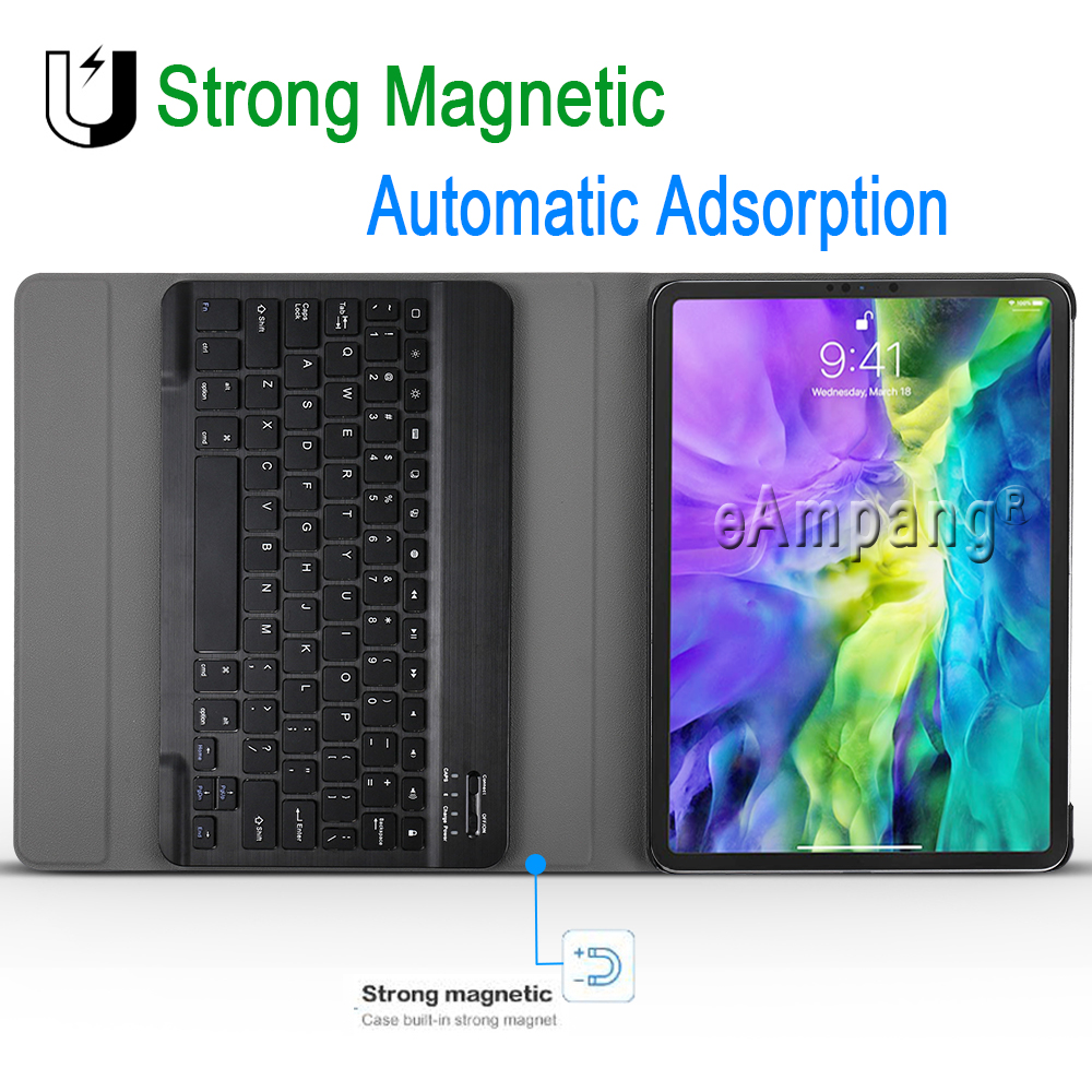 11 Keyboard for iPad iPad 11 Pro For English Pro Case Generation 2nd Apple Cover 2020