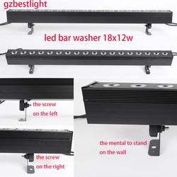 Led Pixel led bar washer 18x12w rgbw 4in1 led wasll washer licht led bar waschen licht für bühne waschen