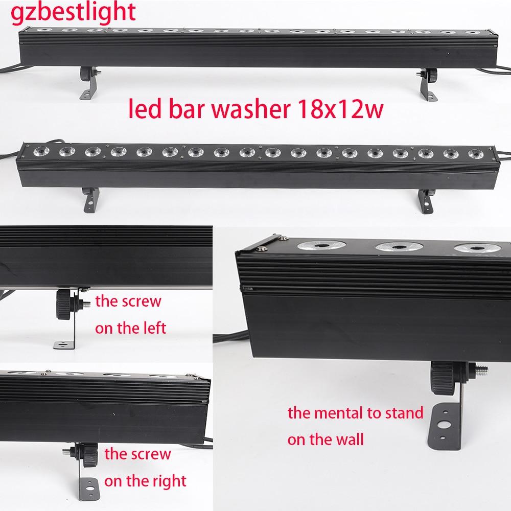Led Pixel Led Bar Washer 18x12w Rgbw 4in1 Led Wasll Washer Light Led Bar Wash Light For Stage Wash