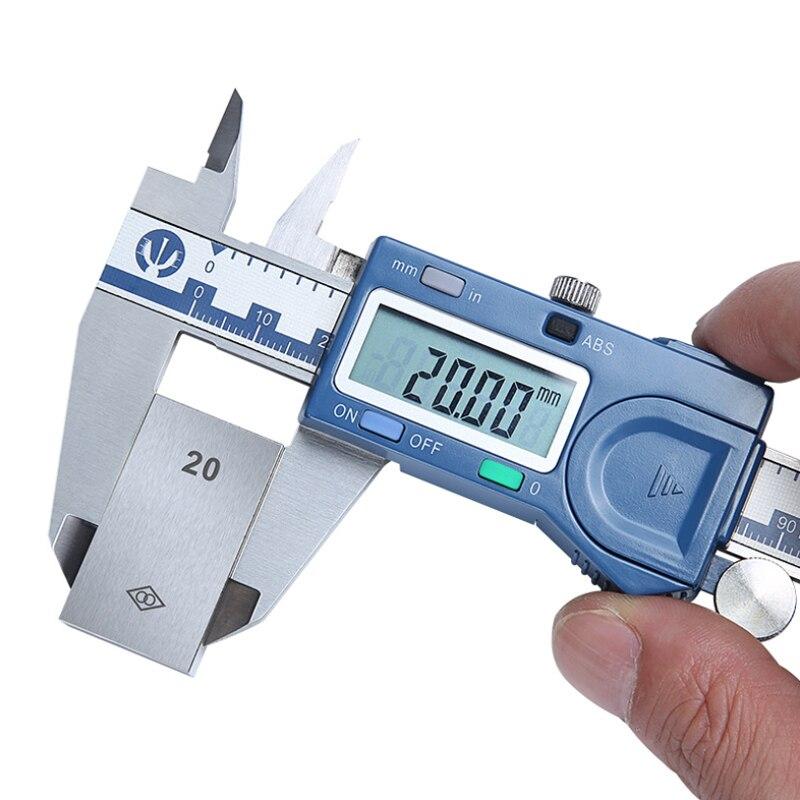 New 150mm High Precision Digital Metal Vernier Caliper Stainless Steel Electronic 3ms Response Measuring Caliber Pachometer