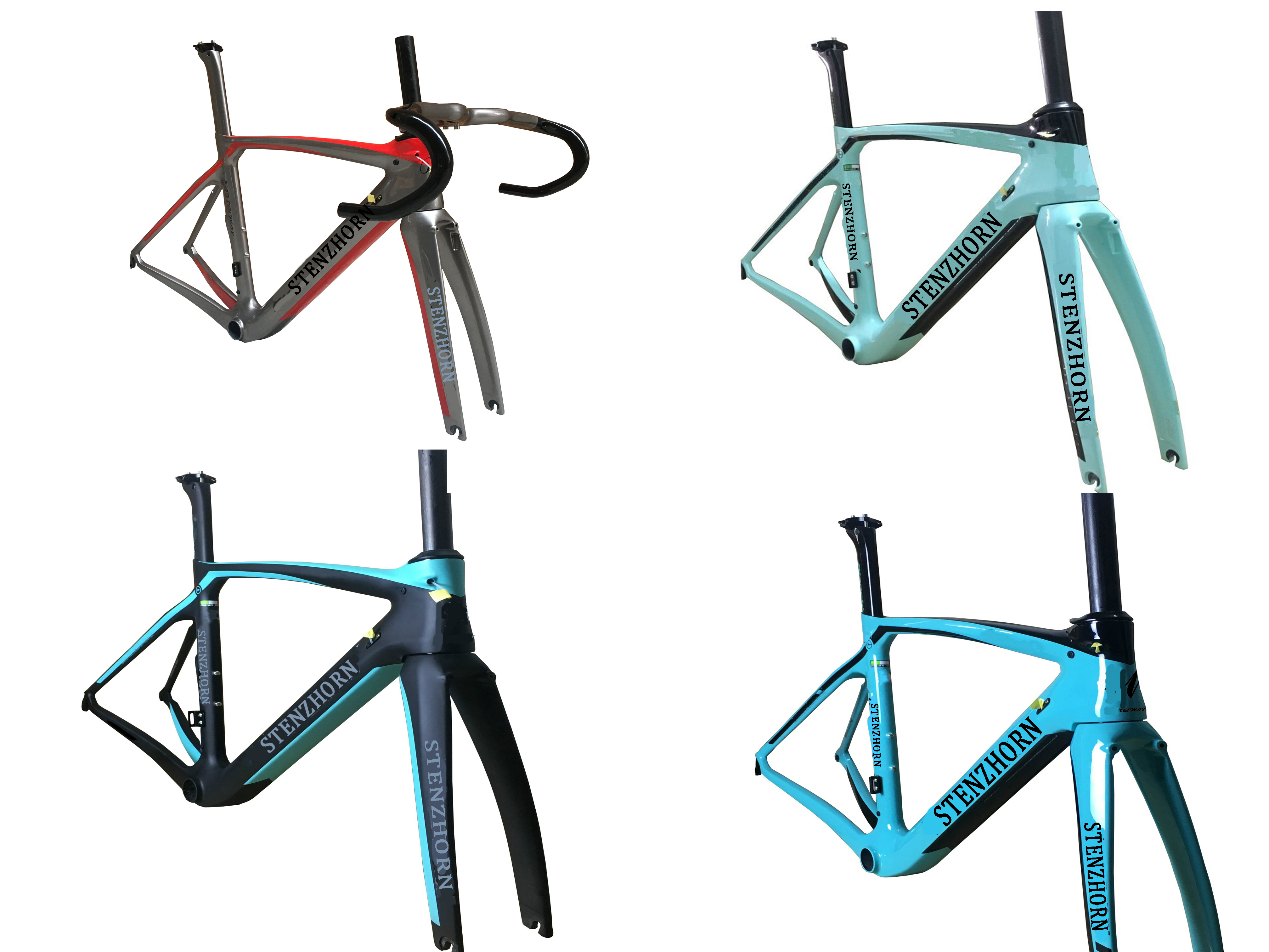 Stenzhorn High Quality XR4 Newest Arrival New Logo Hot Carbon Road Bike Toray T1100 UD Frame: Frame+Seatpost+Fork+Clamp+Headset