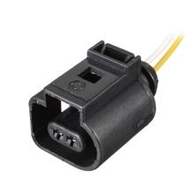 Uprząż elektryczna 2 złącze pinowe wtyczki okablowania dla VW Audi A4 A6 A8 Q5 Q7 2004-2009 1J0 973 702 tanie tanio CN (pochodzenie)