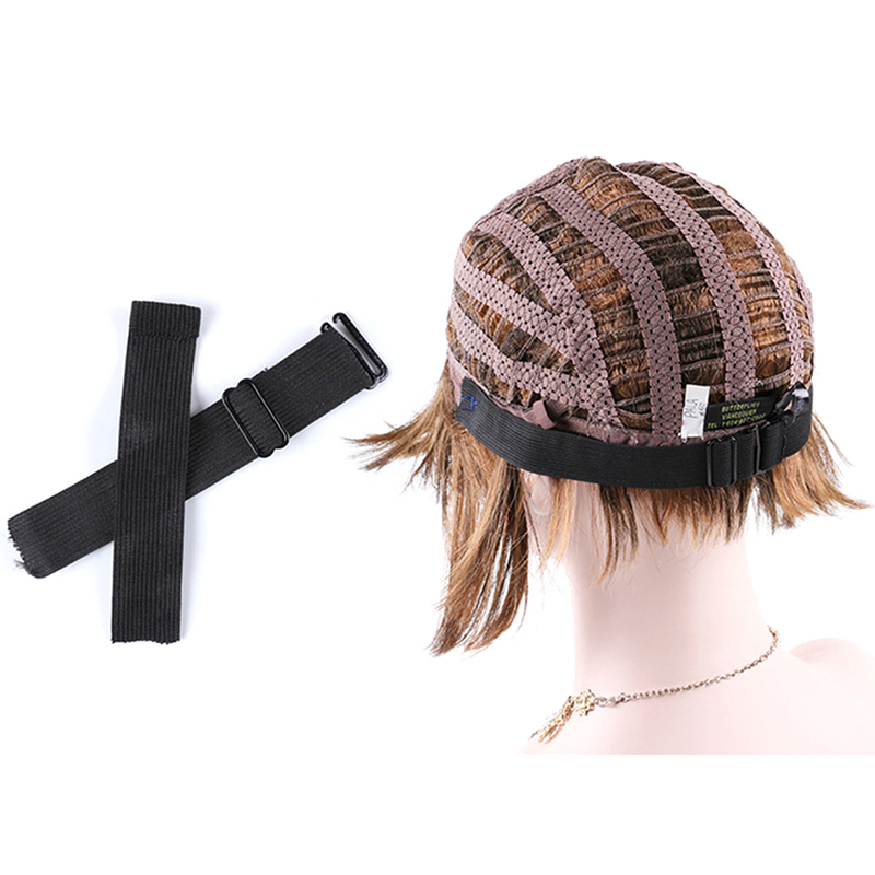 New Black Elastic Band For Wigs Making Accessories Adjustable Wig Band For Holding Wigs Grip