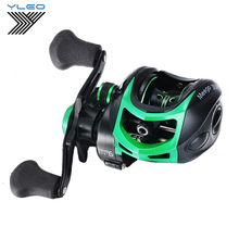 YLEO High Speed Bait Casting Fishing Reel 19+1 Ball Bearings 9.1:1 Lure Fish Wheel braking force Freshwater fishing 1pcs 50tac100b 50 tac 100b suc10pn7b 50x100x20 mochu high speed high load capacity ball screw support bearings