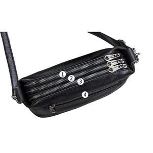 Image 4 - Genuine Leather Shoulder Bag Womens Crossbody Bags for Women Luxury Handbags Fashion Female Purse Totes Messenger Bag