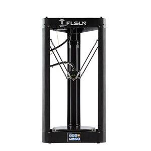 Image 2 - 3D Drucker Flsun QQ S PRO Delta Kossel Auto Level Verbesserte Lebenslauf Pre montage TFT 32bits bord impressora 3d Drucker