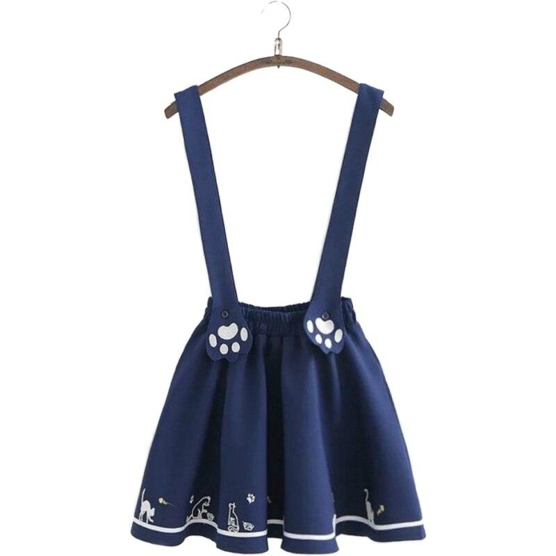 Lolita Kitty Suspender Skirt 1