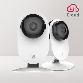 YI 1080p Home Camera Indoor Security Camera Surveillance System with Night Vision for Home/Office Monitor White