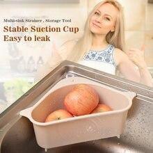 Новый Кухонный треугольный фильтр для раковины корзина слива