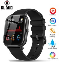 P8 חכם שעון גברים נשים 1.4 אינץ מגע מלא כושר גשש ספורט קצב לב צג IP67 עמיד למים עבור Xiaomi Amazfit GTS