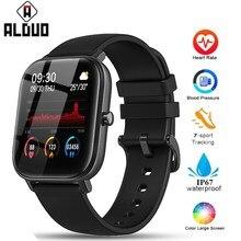 P8 Smart Uhr Männer Frauen 1,4 zoll Full Touch Fitness Tracker Sport Heart Rate Monitor IP67 Wasserdicht Für Xiaomi Amazfit GTS
