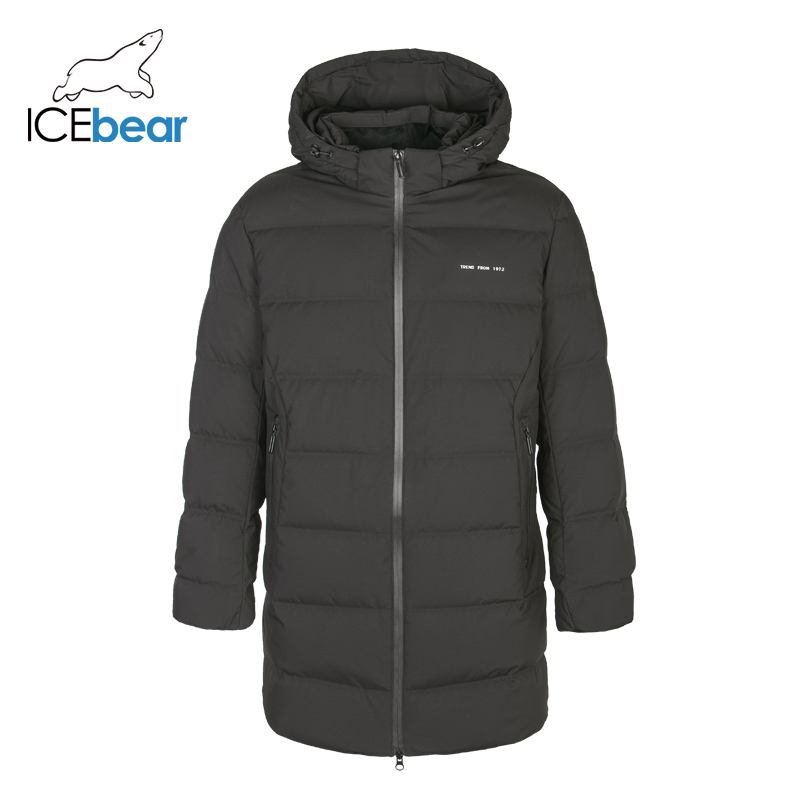 ICEbear brand men down jacket casual fashion winter jacket for men Hooded coats brand men's clothing YT8117140 title=