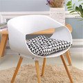 Черная прямоугольная подушка для сиденья, подушка для стула для офиса, дома, кабинета, сидячий коврик, удобный кухонный коврик для украшения