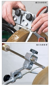 Image 5 - New More Sharpening Jigs  For Water cooled Grinder Woodturning tool Woodworking Sharpening Clips Scissor Jig Knife Jig