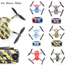 Protective Film PVC Sticker for DJI Mavic Mini Drone Body Arm Waterproof Scratch proof Decals Shell Cover Colorful Skin