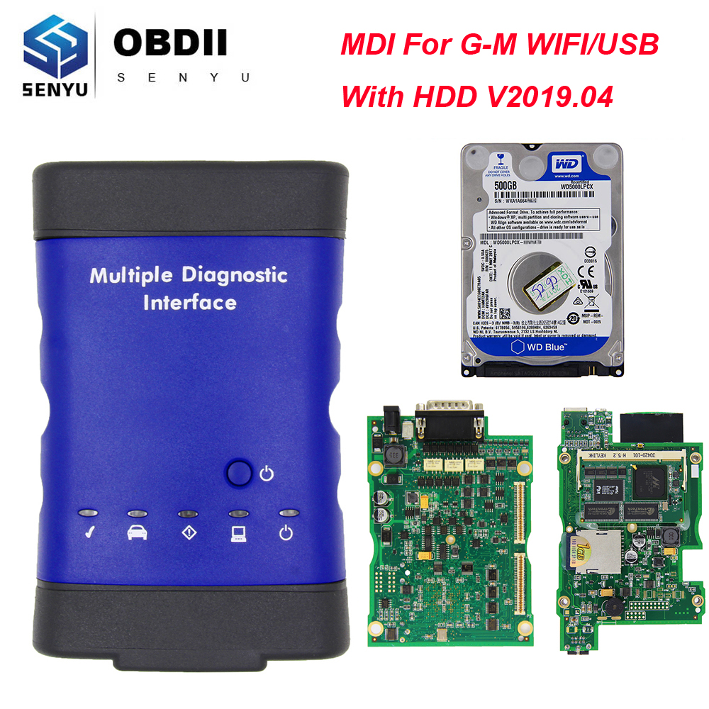 Image 5 - MDI For GM V2019.04 Multiple Diagnostic Interface OBD2 WIFI USB Scanner OBD 2 OBD2 Car Diagnostic Auto Tool MDI wi fi Scanner-in Battery Measurement Units from Automobiles & Motorcycles on