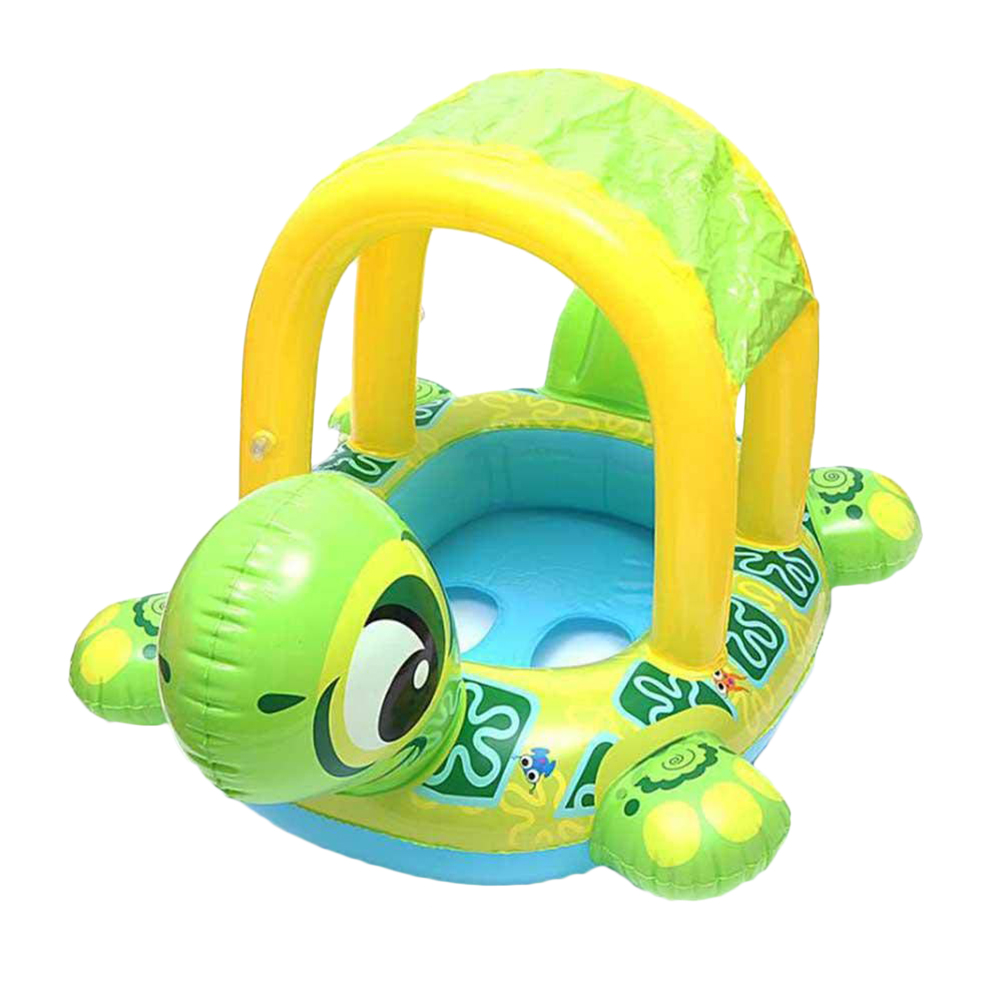 Portable Cartoon Turtle Shape Inflatable Baby Beach Swimming Pool Floating Seat Boat Pool Toys For Children Gift #20