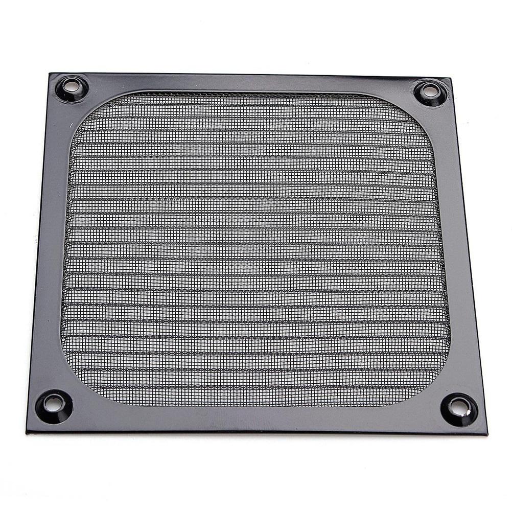 120mm Aluminum Grill Guard PC Computer Fan Cooling Dustproof Dust Filter Case new