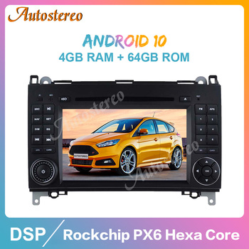 Android 10 Car DVD Player GPS For Mercedes Benz B200/B-class/W245/B170/W169 Auto Stereo Radio Car Multimedia Player Head Unit image