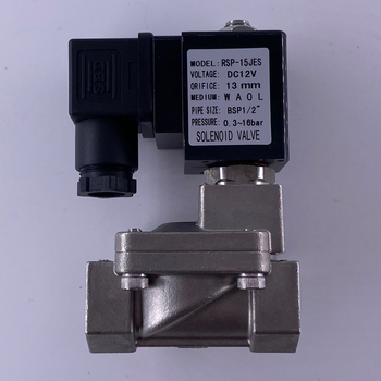 цена на 16bar, low temperature energy saving coil, pilot type SS316 or brass normally closed solenoid valve, 3/8~2 water valves.