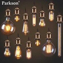 Ampoule rétro Edison, Vintage, lumière incandescente, lumière à Filament, lampe à intensité variable, type E27, 110/220V, 40W, ST64, T45, G80, G95, G125