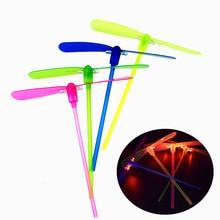 Пластик светодиодный блестящие бамбук ночник бамбук Летающий волшебная игрушка стойло Aliexpress Amazon Лидер продаж