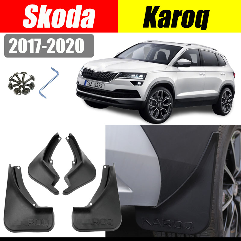 Nero 4pcs anteriore e posteriore auto parafanghi paraspruzzi parafango parafango parafango parafanghi 6/Sedan 2013/2014/2015/2016/2017/2018