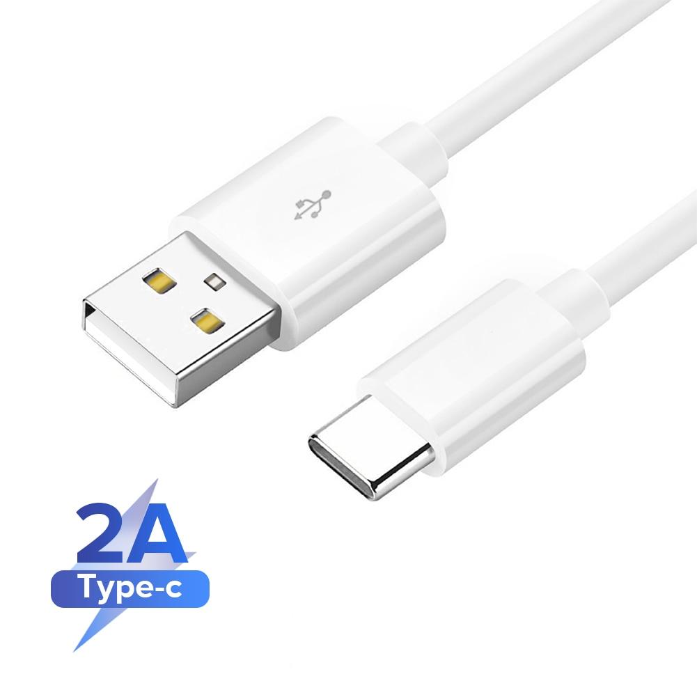 Tipo c cabo usb 2a carga rápida usb tipo c cabo de dados para samsung xiaomi tablet android cabo de carregamento usb cabo de carregador 3m 2m|Cabos flexíveis de celular|   -