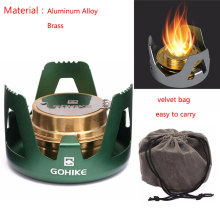 Portable Alloy Outdoor Mini Practical Spirit Alcohol Stove