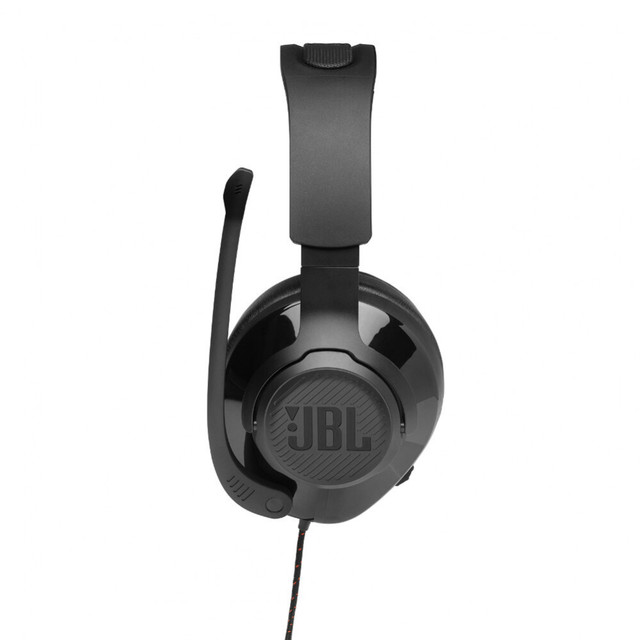 Earphones & Headphones JBL JBLQUANTUM200 Consumer Electronics Portable Audio Video headset Earphone Headphone with microphone QUANTUM 200 for Video Game 100DB Wired Dynamic 4