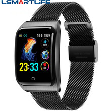 AF6 IP68 Waterproof Smart Watch F9 Heart Rate Monitoring Blood Pressure Sport Bluetooth Men Smartwatch for IOS Android