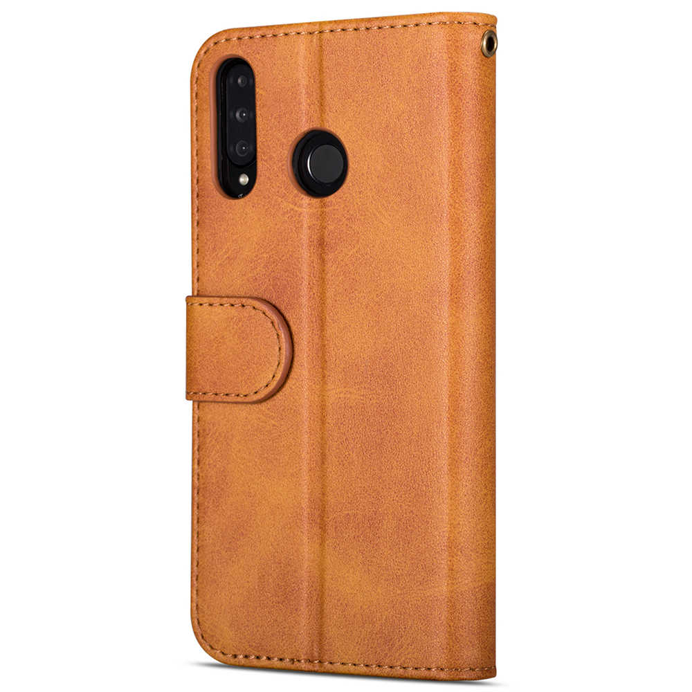 Dla Huawei przypadku telefonu komórkowego P20 P30 P40 Mate10 20 lite Pro Y6 Y7 P Smsrt Plus 2019 odwróć portfel posiadacz karty zamek skórzany pokrowiec