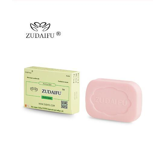 3pcs ZUDAIFU Sulfur soap natural Anti Fungus Perfume Butter Bubble Bath Healthy Soaps Skin 2