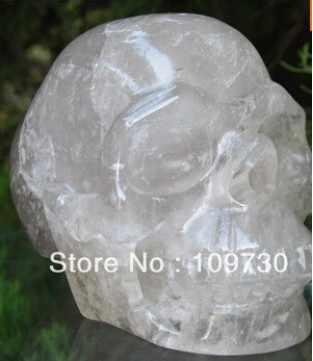 328 kuvars kaya kristal kafatası, gerçekçi, kristal şifa